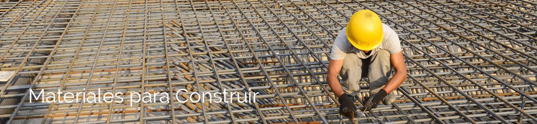 Materiales p/ construir
