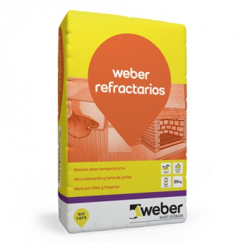 WEBER.TEC REFRAC x 20 Kgs.